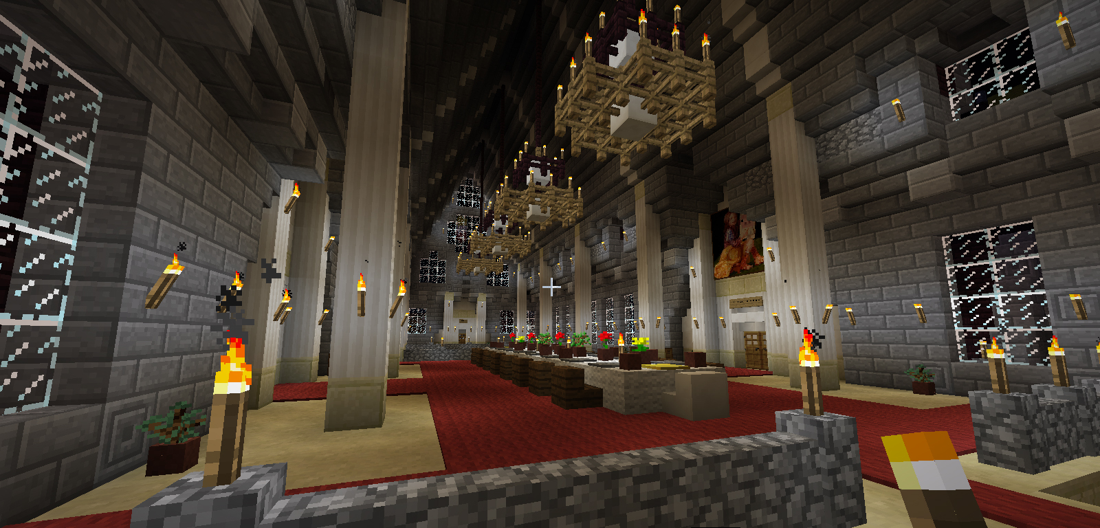 Unofficial infinity minecraft server general i novae for Dining room designs minecraft